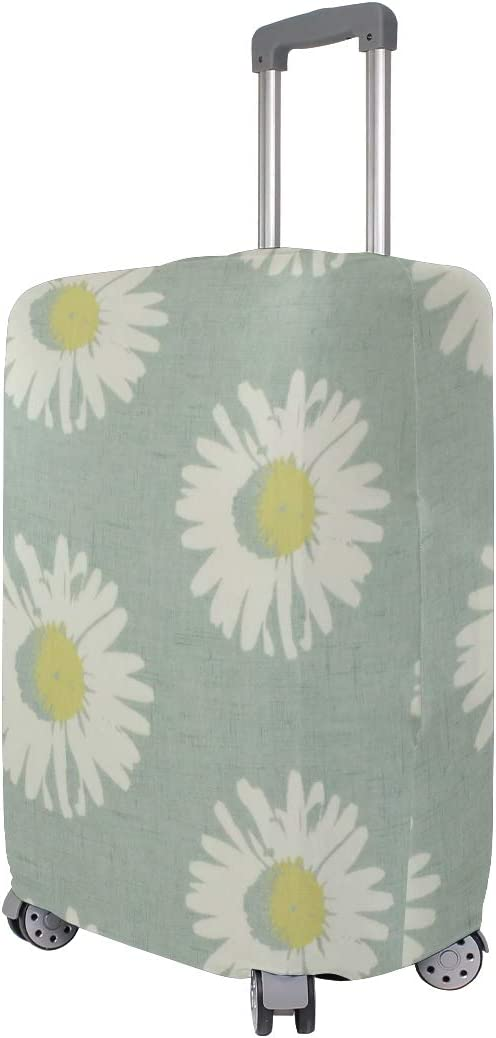 18//22//26//29 Inch Travel Suitcase Luggage Protective Cover with Chrysanthemum