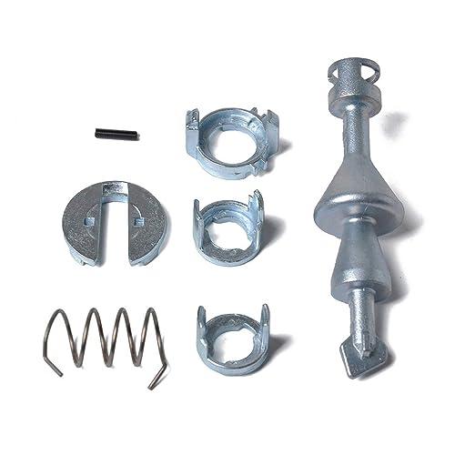 delantero izquierdo Kit de reparaci/ón de bloqueo de puerta derecho Kit de reparaci/ón de cilindro de bloqueo de puerta Piezas de repuesto