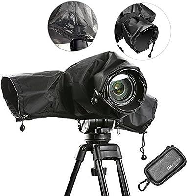 efbbq lluvia para cámara pantalla impermeable cámara fotografía ...