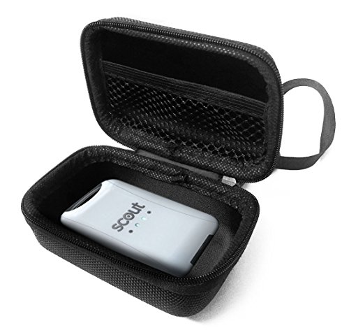 FitSand (TM Travel Zipper Carry EVA Hard Case for Scout Universal Vehicle GPS Tracker