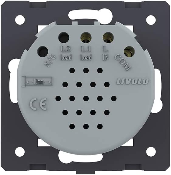 Livolo vie intérieure radio boutons poussoir Interrupteur Impulsion Commutateur 12-24 V vl-c701chr