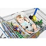 Baby Shopping Cart Hammock Shopping Cart Cover Anti-Dirty...