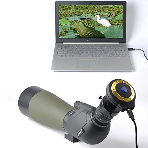 Spotting Scope USB Digital Eyepiece Camera for Digiscoping - for Spotting Scopes (Digital Camera) by Gosky