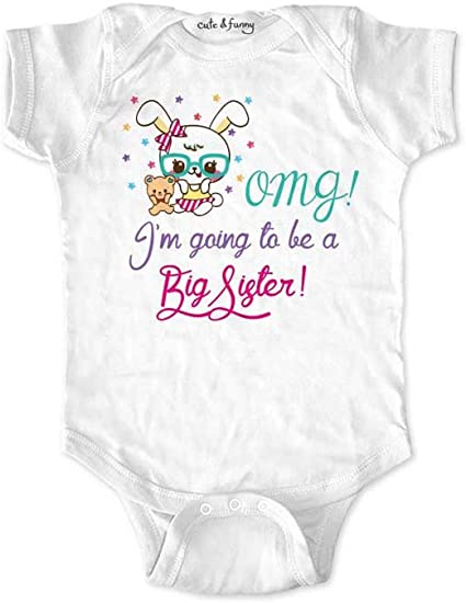 Pregnancy Announcement,Sister I/'m going to be a big sister Sister Bear T-shirt