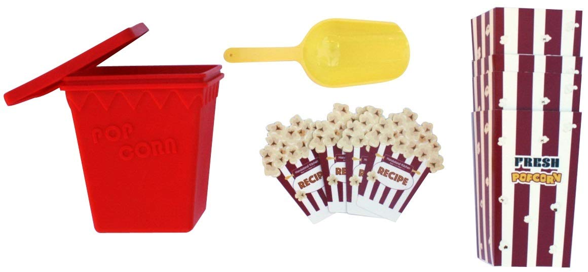 Handstand Kitchen Deluxe Popcorn Making Gift Set with Recipes by Handstand Kitchen (Image #2)