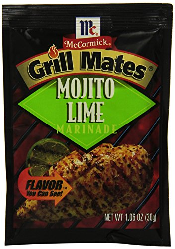 McCormick Grill Mates Mojito Lime Marinade, 1.06 oz (Case of 12)