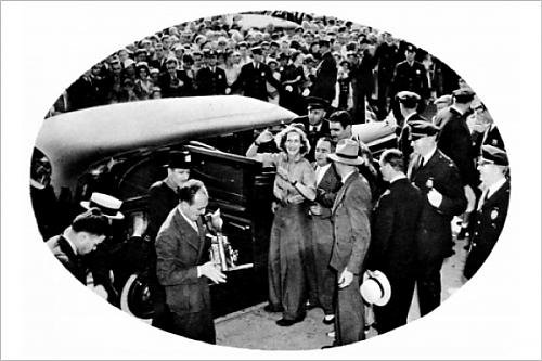 Photographic Print of Mrs. Beryl Markham in New York, 1936