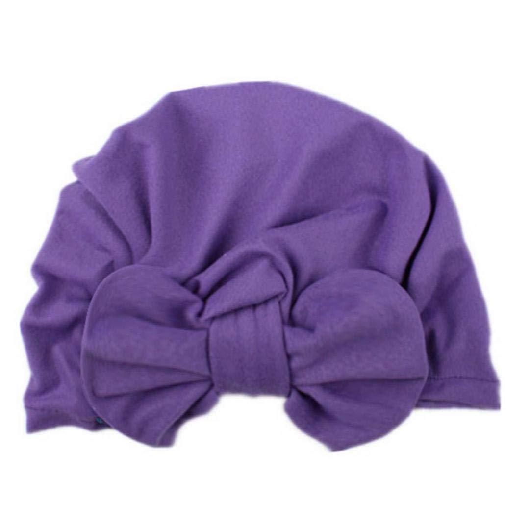 Cappello Neonata con Le Orecchie di Coniglio pi/ù Piccoli Morbida Turbante Knot Bow cap Hospital Hat Head Wrap