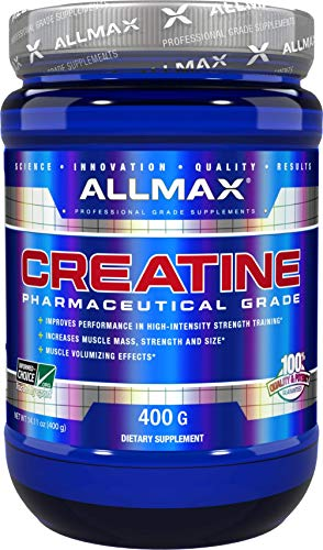 ALLMAX Nutrition Creatine Monohydrate Powder, 400g
