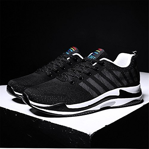 Thick Large HUAN C Bottom Lovers Knit Size Men's Lightweight Shoes Trainers 2018 Sneakers Fall Running Spring Breathable Shoes n1YYrTXZ