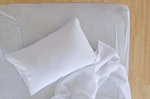 6 king 108x110 t-200 choice hotel flat bed sheet premium quality percale