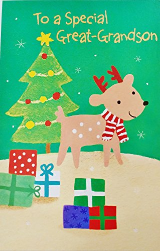 To A Special Great-Grandson - Merry Christmas Greeting Card -