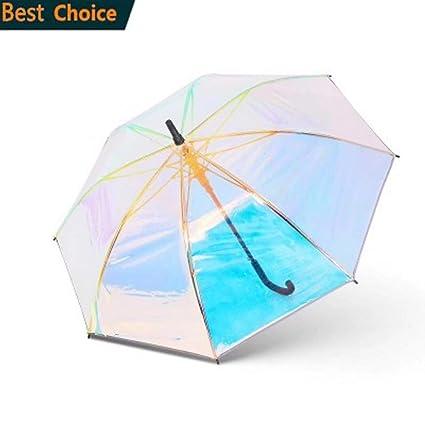 eb074c603f13 Amazon.com : SMSHNJH Nice Weatherproof Umbrella Plastic PVC ...