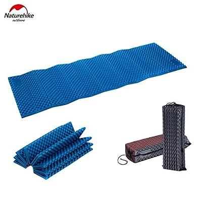 Outdoor Portable Egg Slot Type Camping Mat Yoga Cushion Ultralight Mattress Folding Moisture-proof Aluminum Film Pad