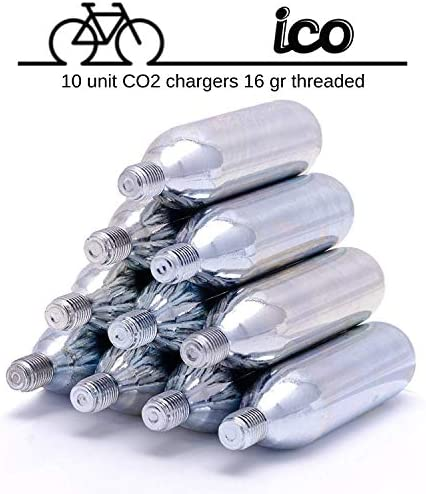 Impeccable Culinary Objects ICO ICOC1610T 16G CO2 Cartridges 10 Pack