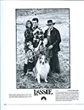 LASSIE-8X10 PROMO STILL-1994-HELEN SLATER-TOM GUIRY-FAMILY-ADVENTURE-COLLI FN offers