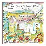Calendar 2020, Spain Way of St. James El Camino
