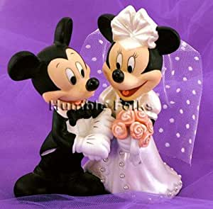 mickey minnie wedding cake topper 2 mickey and minnie mouse disney wedding cake 17353