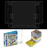 Zerone 10Pcs Game Card Cartridge Case, Transparent