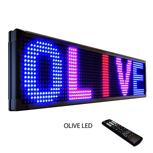 Olive Led Sign 3Color