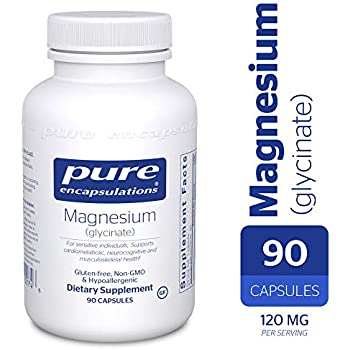 Pure Encapsulations - Magnesium (Glycinate) - Supports Enzymatic and Physiological Functions* - 90 Capsules