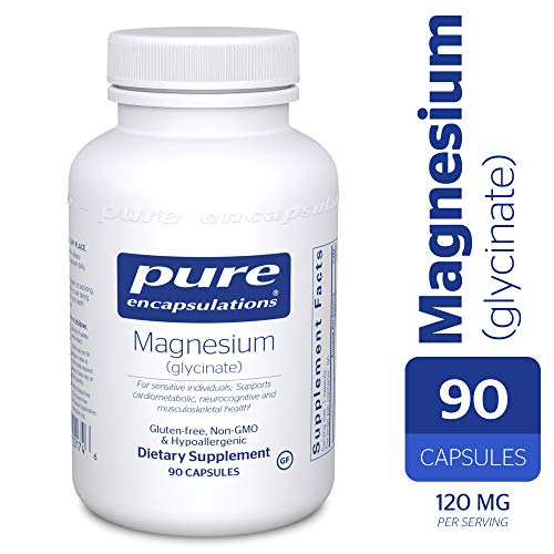 - Pure Encapsulations - Magnesium (Glycinate) - Supports Enzymatic and Physiological Functions* - 90 Capsules