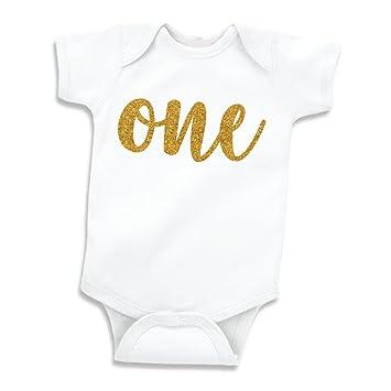 Amazon.com: Bebé niña para primer cumpleaños de atuendo ...