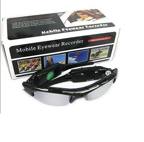 cw82 Spy Gafas de Sol de Cristal de vídeo cámara con HD 1280 ...