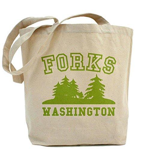 Cafepress Unique design forchette Washington Tote bag–standard multi-color by Cafepress