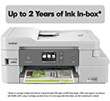 Office Products : Brother INKvestment Tank Inkjet Printer, MFC-J995DW XL, Extended Print Color All-in-One Printer with Mobile Printing and Duplex Printing, Up To 2-Years of Ink In-box