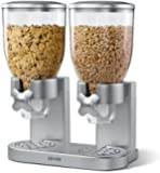 Zevro KCH-06124/GAT202 Indispensable Dry Food Dispenser, Dual Control, Silver