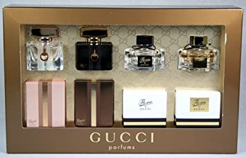 Amazoncom Gucci Perfume Miniature Gift Set Fragrance Sets Beauty