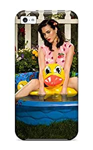 Anti-scratch And Shatterproof Katy Perry Phone Case For Iphone 5c/ High Quality Tpu Case
