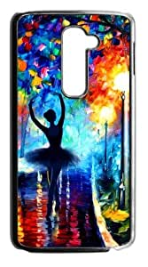 Hoomin Colorful Printed Ballet Dancer Pattern LG G2 Cell Phone Cases Cover Popular Gifts
