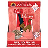 Weruva Cats In the Kitchen Mack, Jack & Sam with