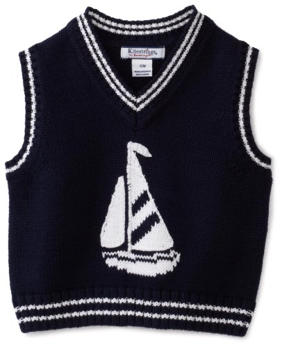 Hartstrings Baby Boys' Sailboat Sweater Vest