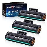 CMTOP 3 Black MLT-D111S Toner Compatible for