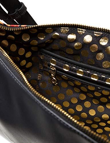 Cm 15 X 5x24 2 8x36 Patch Desigual Bandolera Negro Siberia Carmela Bolsos Mujer H Women T b Bag 7wxC4qO