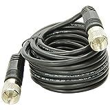 TruckSpec TS-18CC 18-Feet RG-58A/U Coaxial Cable with Pl-259 Connectors