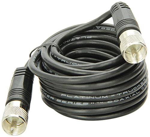 : 18' RG-58A/U Coaxial Cable With Pl-259 Connectors