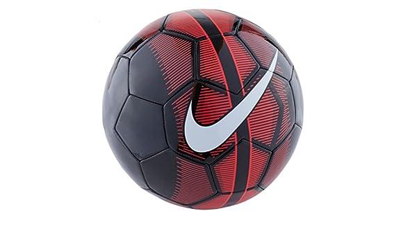Nike Mercurial Fade - Balón de fútbol (Negro/Rojo) (4): Amazon.es ...