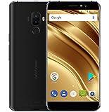Ulefone S8 Pro - 5,3 pollici Schermo HD 0.5mm Bezel Android 7.0 4G Smartphone, tripla fotocamera (5MP + 5MP + 13MP), Quad Core 2GB RAM + 16GB ROM, GPS, Cornice metallica - Nero