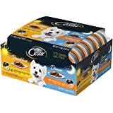 Cesar Sunrise Wet Dog Food Breakfast And Dinner Mealtime Variety Pack, (Pack Of 12) 3.5 Oz. Trays