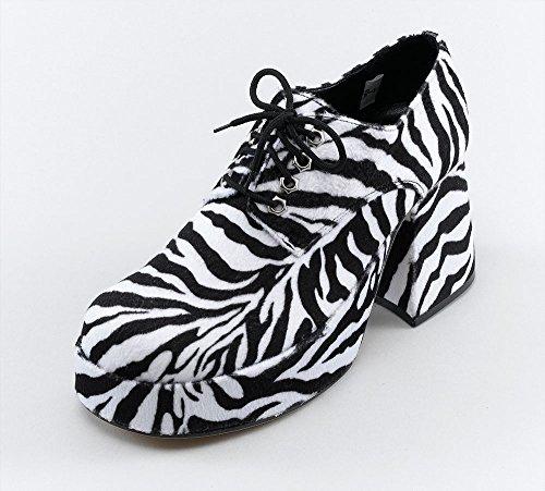 Platform Mens Zebra (S) Shoes