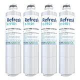 Refresh DA29-00020B Replacement for Samsung DA29-00020B, HAF-CIN/EXP, 46-9101 Refrigerator Water Filter (4 Pack)