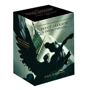 Percy Jackson Boxed Set: Books 1 - 5