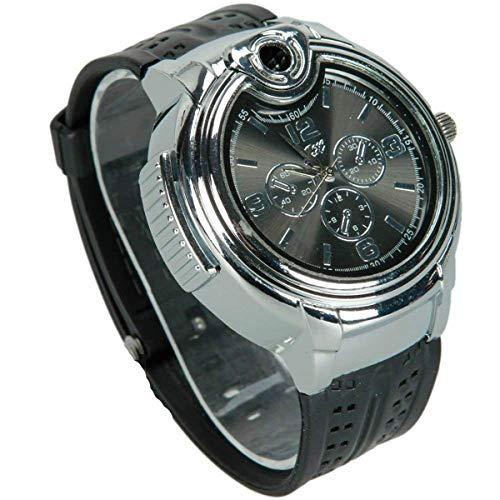 Findtime Novelty Refillable Butane Cigarette Cigar Lighter Watch