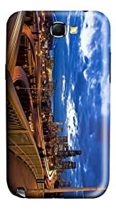 covers waterproof seattle night PC case/cover for samsung galaxy N7100/2