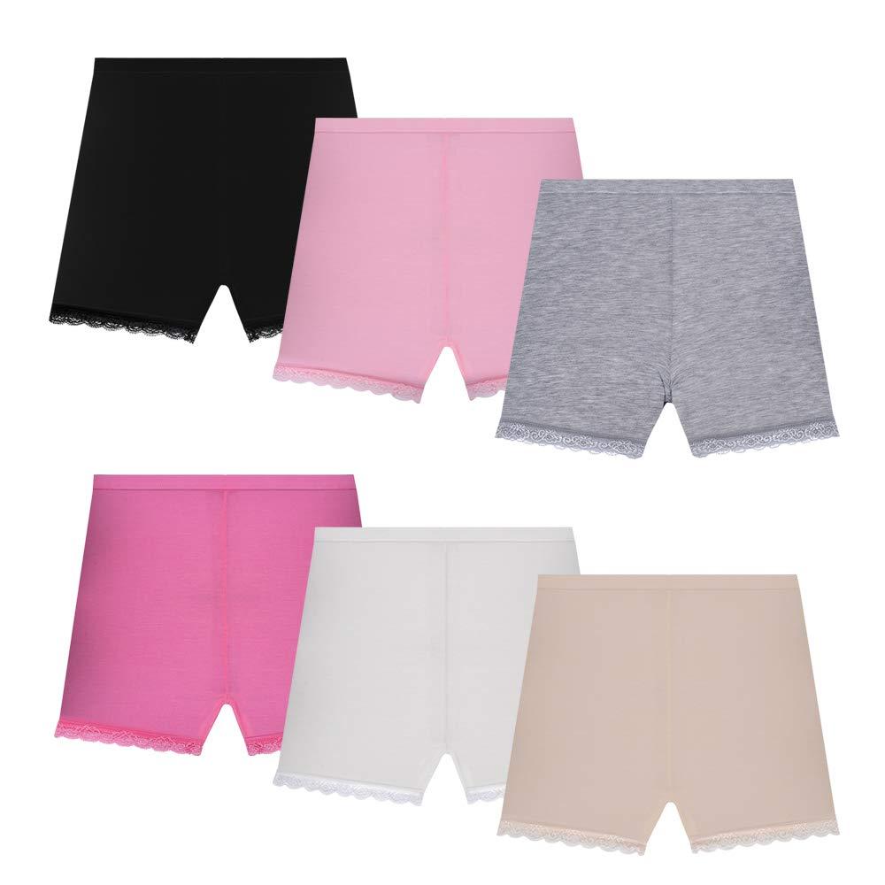 Nightease Mutande Ragazze Modale Boyshorts Culottes Danza Slip Boxer Pantaloni di Sicurezza per Bambine