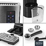 Beem-macchina-per-caff-espresso-con-portafiltro-1110SR-Elements-of-Coffee-Tea-1450-W-pompa-da-19-Bar-con-montalatte-in-acciaio-inossidabile